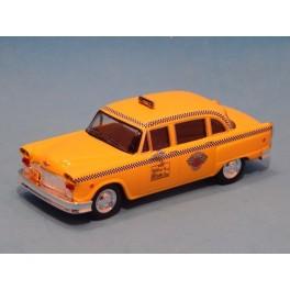 Coche Modelo TAXI CHECKER Vehiculo en miniatura de colección Vintage Automovil a escala