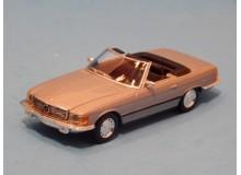 Coche Modelo MERCEDES 350 SL Vehiculo en miniatura de colección Vintage Automovil a escala