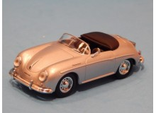 Coche Modelo PORSCHE 356 CABRIO Vehiculo en miniatura de colección Vintage Automovil a escala