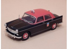 Coche Modelo PEUGEOT 404 TAXI Vehiculo en miniatura de colección Vintage Automovil a escala
