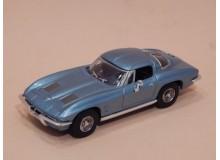 Coche Modelo CHEVROLET CORVETTE Vehiculo en miniatura de colección Vintage Automovil a escala