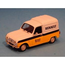 Coche Modelo RENAULT 4F Vehiculo en miniatura de colección Vintage Automovil a escala