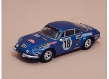 Coche Modelo ALPINE RENAULT A110 Vehiculo en miniatura de colección Vintage Automovil a escala