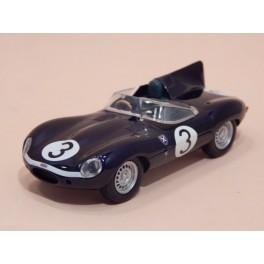 Coche Modelo JAGUAR TIPO D Vehiculo en miniatura de colección Vintage Automovil a escala