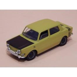 Coche Modelo SIMCA 1000 RALLYE Vehiculo en miniatura de colección Vintage Automovil a escala