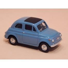 Coche Modelo FIAT 500 Vehiculo en miniatura de colección Vintage Automovil a escala