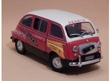 Coche Modelo FIAT 600 D MULTIPLA ABARTH Vehiculo en miniatura de colección Vintage Automovil a escala
