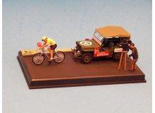 Coche Modelo JEEP WILLYS MB Vehiculo en miniatura de colección Vintage Automovil a escala
