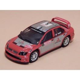 Coche Modelo MITSUBISHI LANCER WRC Vehiculo en miniatura de colección Vintage Automovil a escala