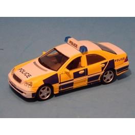 Coche Modelo MERCEDES BENZ CLASE C POLICE Vehiculo en miniatura de colección Vintage Automovil a escala