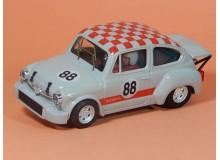 Coche Modelo FIAT 600 ABARTH SLOT Vehiculo en miniatura de colección Vintage Automovil a escala
