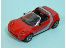 Coche Modelo SMART ROADSTER COUPE Vehiculo en miniatura de colección Vintage Automovil a escala