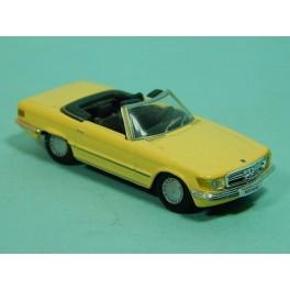 Coche Modelo MERCEDES BENZ 500 SL Vehiculo en miniatura de colección Vintage Automovil a escala