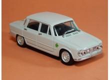 Coche Modelo ALFA ROMEO GIULIA Vehiculo en miniatura de colección Vintage Automovil a escala