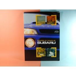 SUBARU GAMA MODELOS 1998