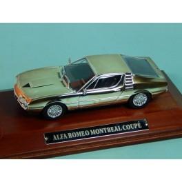 Coche Modelo ALFA ROMEO MONTREAL Vehiculo en miniatura de colección Vintage Automovil a escala