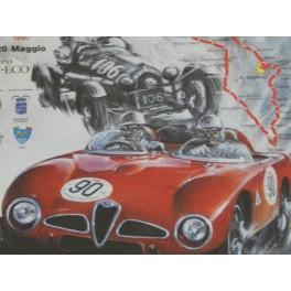 CUADRO ALFA ROMEO 1000 MIGLIA