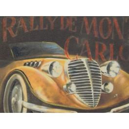 CUADRO RALLY DE MONTECARLO