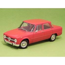 Coche Modelo ALFA ROMEO GIULIA 1600 SUPER Vehiculo en miniatura de colección Vintage Automovil a escala