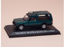 Coche Modelo TALBOT MATRA RANCHO Vehiculo en miniatura de colección Vintage Automovil a escala