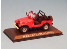 Coche Modelo JEEP CJ7 Vehiculo en miniatura de colección Vintage Automovil a escala