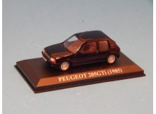 Coche Modelo PEUGEOT 205 GTI Vehiculo en miniatura de colección Vintage Automovil a escala