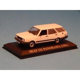 Coche Modelo SEAT 131 PANORAMA Vehiculo en miniatura de colección Vintage Automovil a escala