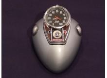 Reloj vintage sobremesa original Imitacion a depósito de moto