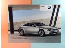 BMW SERIE 6 ACCESORIOS