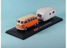 Coche Modelo VOLKSWAGEN BUS T1 Vehiculo en miniatura de colección Vintage Automovil a escala