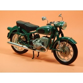 Motocicleta Modelo BMW R60 Vehiculo en miniatura de colección Vintage Automovil a escala 1:10