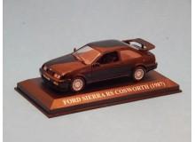 Coche Modelo FORD SIERRA RS COSWORTH Vehiculo en miniatura de colección Vintage Automovil a escala
