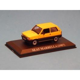 Coche Modelo SEAT MARBELLA Vehiculo en miniatura de colección Vintage Automovil a escala