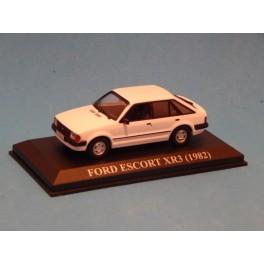 Coche Modelo FORD ESCORT Vehiculo en miniatura de colección Vintage Automovil a escala