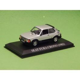 Coche Modelo SEAT FURA CRONO Vehiculo en miniatura de colección Vintage Automovil a escala