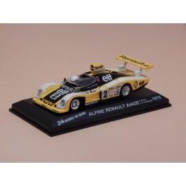 Coche Modelo ALPINE RENAULT A442B Vehiculo en miniatura de colección Vintage Automovil a escala