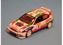 Coche Modelo TOYOTA COROLLA WRC Vehiculo en miniatura de colección Vintage Automovil a escala