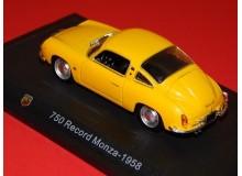 Coche Modelo ABARTH 750 MONZA Vehiculo en miniatura de colección Vintage Automovil a escala