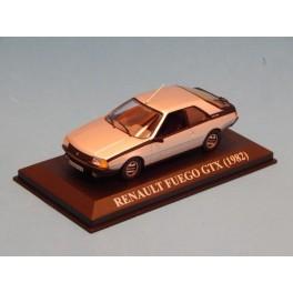 Coche Modelo RENAULT FUEGO Vehiculo en miniatura de colección Vintage Automovil a escala